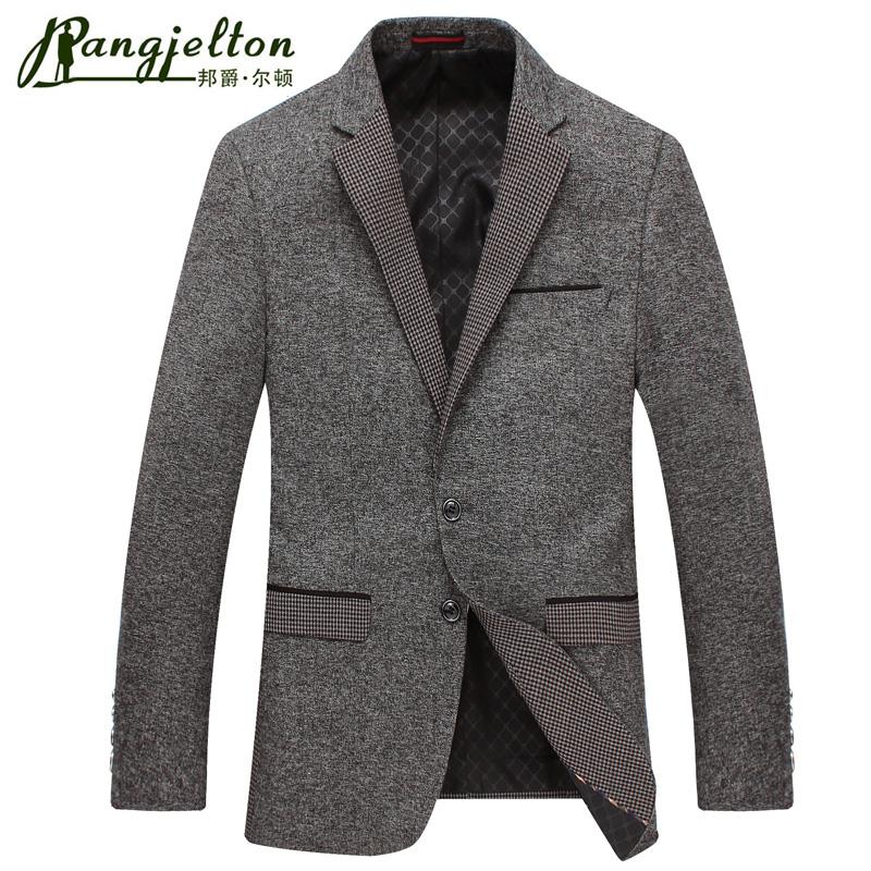 邦爵尔顿2016年春秋装新款商务男装单西装 休闲西服男士上衣外套