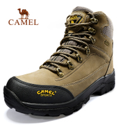 Selling 120 thousand double camel high outdoor hiking shoes help men and women on foot toe leather waterproof outdoor shoes