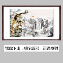 猛虎下山纹身矢量图分享展示图片