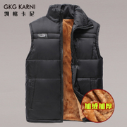 In the male elderly father put new autumn and winter vest plus velvet waistcoat warm vest vest thickened middle-aged men