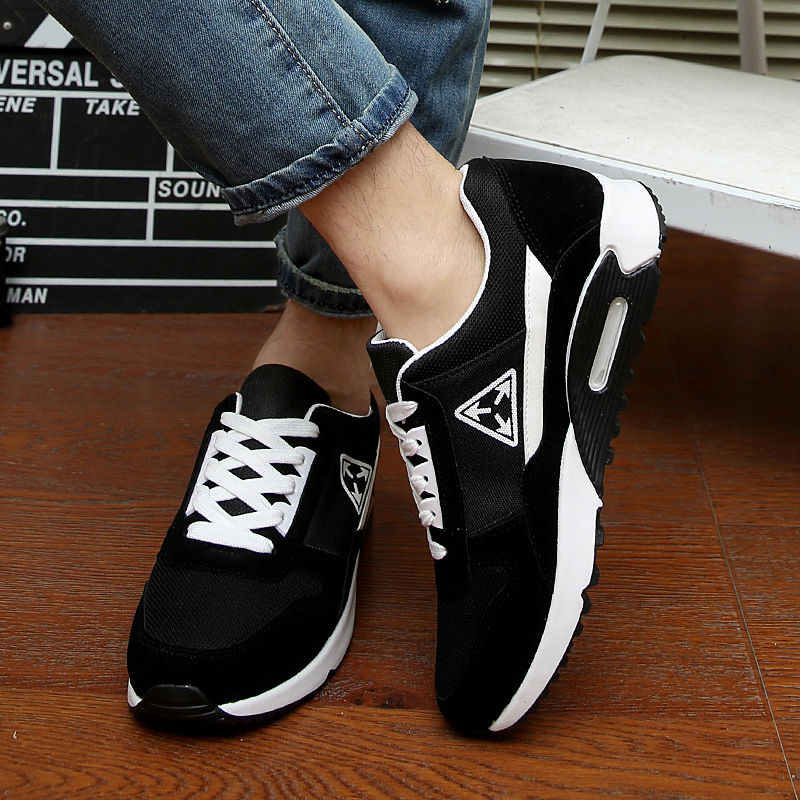 Fall/winter men sport shoes running shoes platform high sweet o 2015 new students cushioned shoes leisure shoes