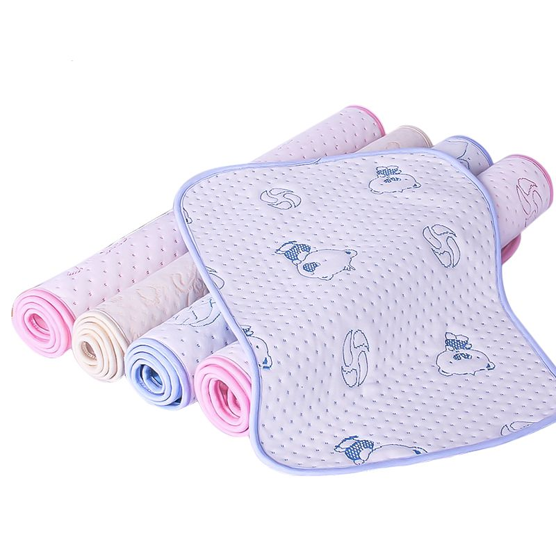 80*120 pure cotton baby, super waterproof, breathable, washable, diaper pad, crawling mat, new mat, picnic mat, baby