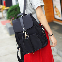 Backpack Bag Korean fashion all-match Mini Bag 2017 new tide Oxford cloth Canvas Backpack Ms.