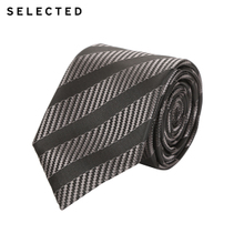 [800-80]SELECTED men's business casual polyester thread pattern tie A41731T501