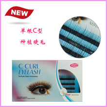 Stars Colors star XEB-004 C plant Yan single cluster type natural dense planting grafted eyelashes