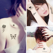 A 32 piece of tattoo sexy cute little lasting waterproof and simulation fresh tattoo cover mark