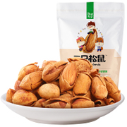 Tmall supermarket three squirrel nut daily hand stripping 120g snack roasted almond almond