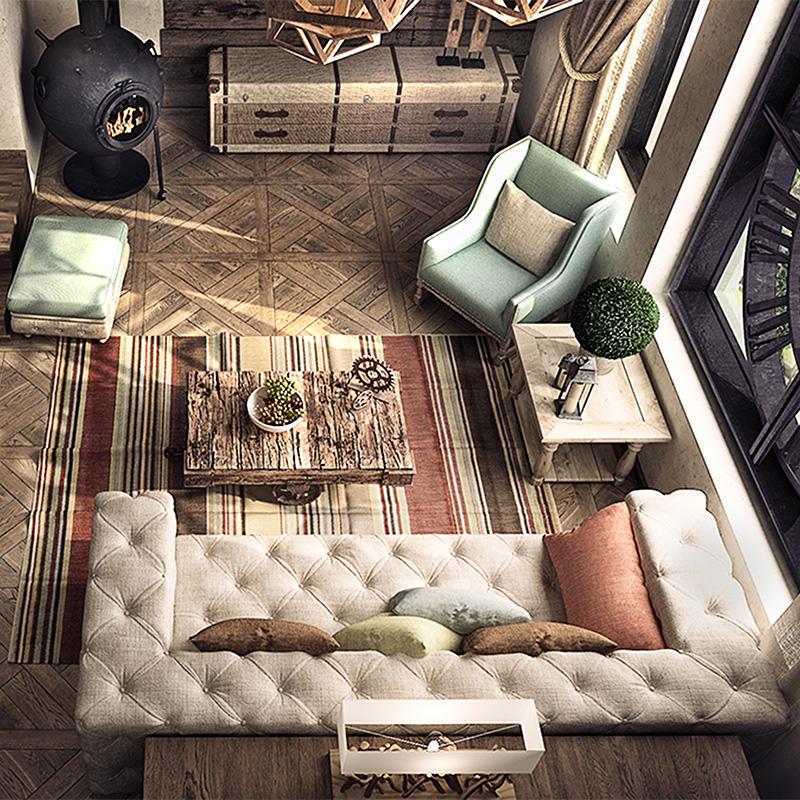 loft 国外 工业风格 时尚软装 设计师 图库 灵感库 素材资料