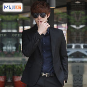 During autumn and winter young Korean men meters Slim small suit dress coat leisure suit jacket British male tide