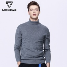 Mark Ed Faye downneck male winter 2017 new men's sweater sweater slim trend of Korean backing