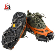 Genuine 8-tooth non-slip crampons climbing shoe laces shoe studs stretch not white