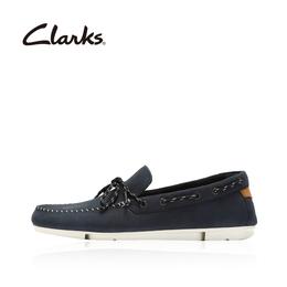 clarks其乐商务休闲男鞋舒适三瓣底时尚船鞋乐福男鞋Trimocc Edge