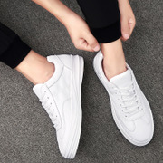 Autumn shoes for men black shoes sports shoes casual shoes all-match breathable white shoe board shoes.