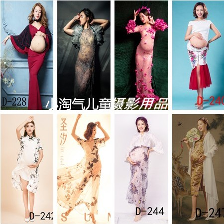New han edition fashion photography studio at maternity pregnant women theme personal pictorial art photos pregnant mammy