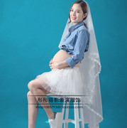 The new version of studio maternity 2016 pregnant women fashion photo portrait photography clothes pregnant Mommy