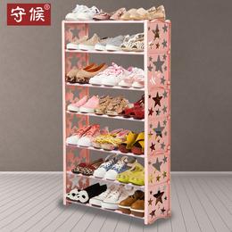 简易防尘鞋架多层鞋柜简约现代家用经济型鞋架子宿舍拖鞋架小鞋柜