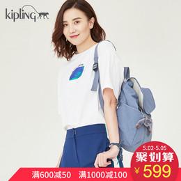 【宋佳同款】Kipling凯浦林2018新款时尚轻量K1526317旅行双肩包