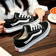 Ins super fire canvas shoes 2017 female winter new Korean students fall flat shoes all-match Harajuku shoes