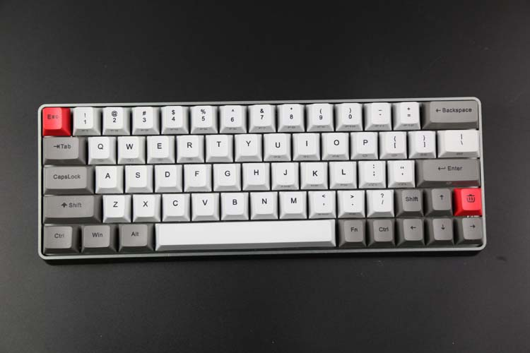 Customized mechanical keyboard Have light GK64 with heat sublimation keycap Hot plug cherry axis of the keyboard