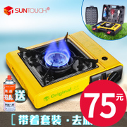 Portable barbecue stove for camping stove outdoor wind gas stove gas field Hot pot cooking stove Castro