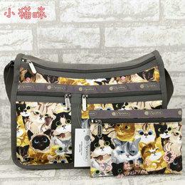 《丽包舍》力士保 韩版女包斜挎包单肩包印花女包7507动物乐园