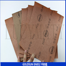 The sun EN852 dry sandpaper Shagan white matte paper furniture wood paint white paper coated sand