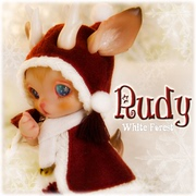 [1: S]soom Rudy - White Forest pet BJD white Christmas deer forest Edition