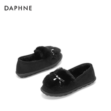 Daphne Daphne/ 2017 new winter boots warm boots wear short plush Home Furnishing CASUAL BOOTS