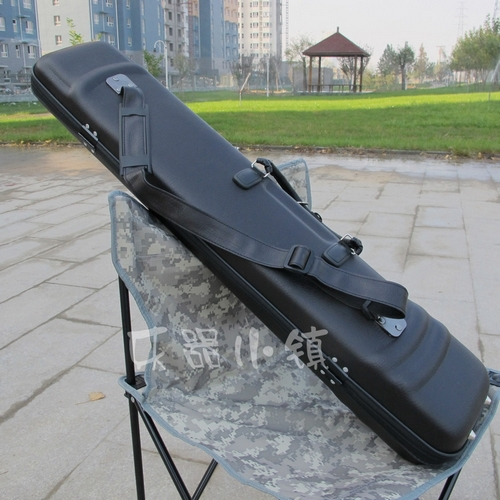 Black single straps erhu box/high-grade leather erhu violin case package/packages from post can be back