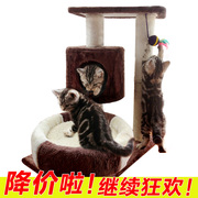 Same day shipping shipping Meggie cat climbing frame 507 cat cat tree wood cat toy cat toy cat board