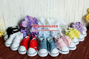 The cat litter of 6 BJD daily, double Velcro canvas shoes 5cm shoes /yosd/soom/