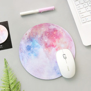 For individual star soft rubber mouse pad mat small fresh round pad of notebook computer