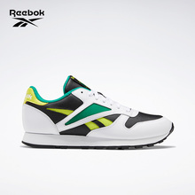 Reebok Reebok classic men's and women's shoes CL leather mark low top retro color matching shoes ef7848
