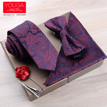 Three piece dress tie men dress business casual Korean wedding groom British tie tie scarf