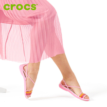Crocs kaluochi shoes sandals female summer isabella summer flat shoes casual sandals 202465