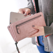 Pear doll woman with a purse of 2017 new female Japanese Korean zipper multifunction Long Large Wallet