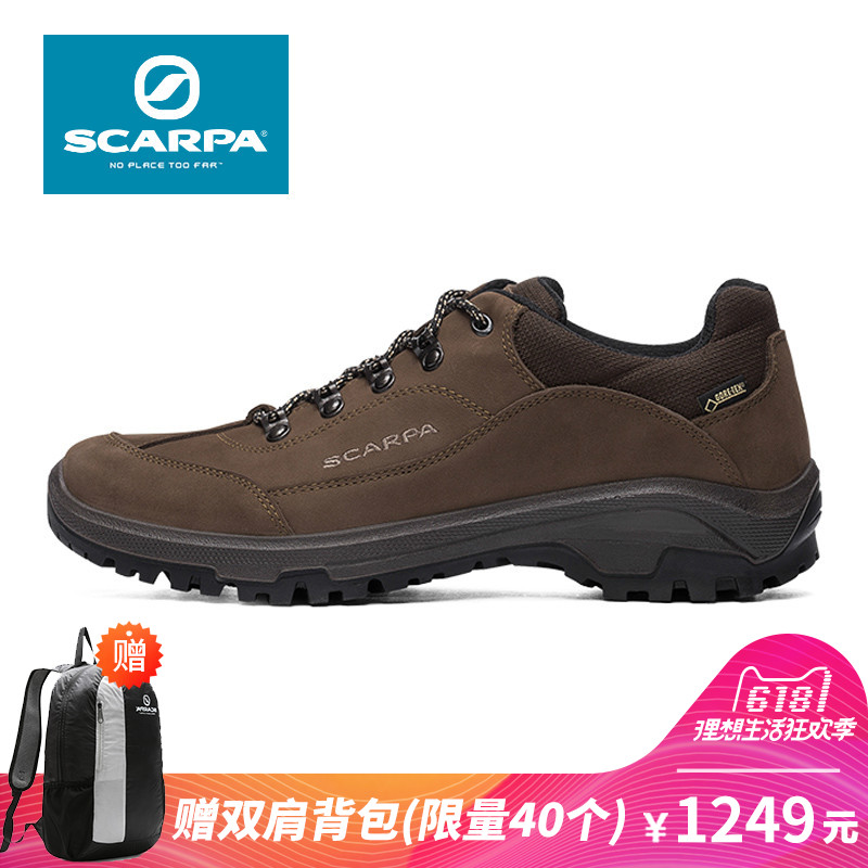 acbc110afe4 SCARPA Scarpa Cyrus Cyrus Men GTX Waterproof Low help Leather  Mountaineering hiking shoes 30013-