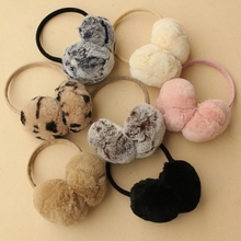 Ear winter rabbit hair 60 percent off men and women special defects! Warm winter fur earmuffs Earmuffs Ear cover