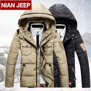 Gucci NIAN JEEP jacket winter new men jacket men short slim thickening