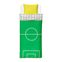Doodle purchase IKEA sipulan IKEA quilt cover and pillowcase childrens football cotton bed cover-Green