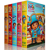 Love Adventure Dora DVD Complete HD Genuine Love Adventure Dora Chinese & English Bilingual CD