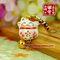 【猫舍道乐堂本铺】日本正版 招福开运招财猫 手机链手机挂件饰品