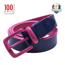 The Ryder Cup golf apparel fashion ladies golf RYDERCUP new leather belt belt
