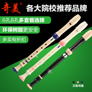 Novice 8 eight hole instrument clarinet CMO adult children 6 six beginners entry recorder clarinet