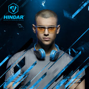 HINDAR radiation proof glasses goggles anti blue glasses computer gaming game and mirror HGA029
