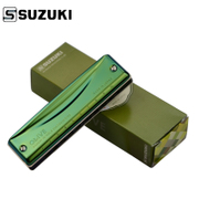 Japanese SUZUKI, SUZUKI C-20 ten, 10 hole Bruce harmonica, C20 super blow beginner, beginner easy to tone tone