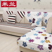 Fabric sofa cushion cushion antiskid four seasons general simple modern European style sofa towel set cover whole custom cover