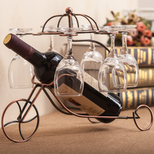 Creative Home Furnishing European wine rack cabinet Decor ornaments wine rack crafts home furnishings and modern living room
