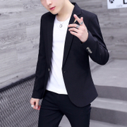 2017 spring and summer new men's suits young Korean Trend casual thin coat Slim small suit men's clothing