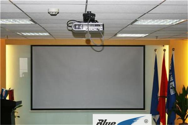 Curtain type office 3 Movie 16 home 100 portable: high-definition curtain wall hanging inch projection 3D:94 projector
